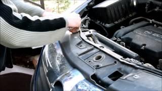 Opel Corsa D - Front bumper removal