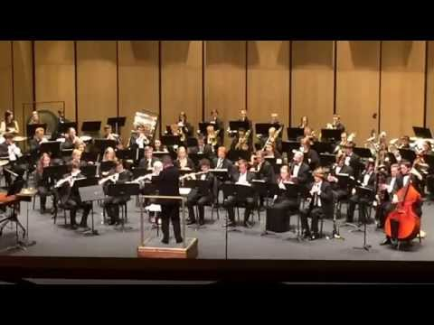 Appalachian State Wind Ensemble - October by Eric Whitacre [HD]