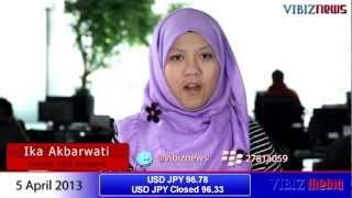 Nikkei Meroket Dan Yen Anjlok Di Dorong Kebijakan BOJ, Vibiznews 5 April 2013