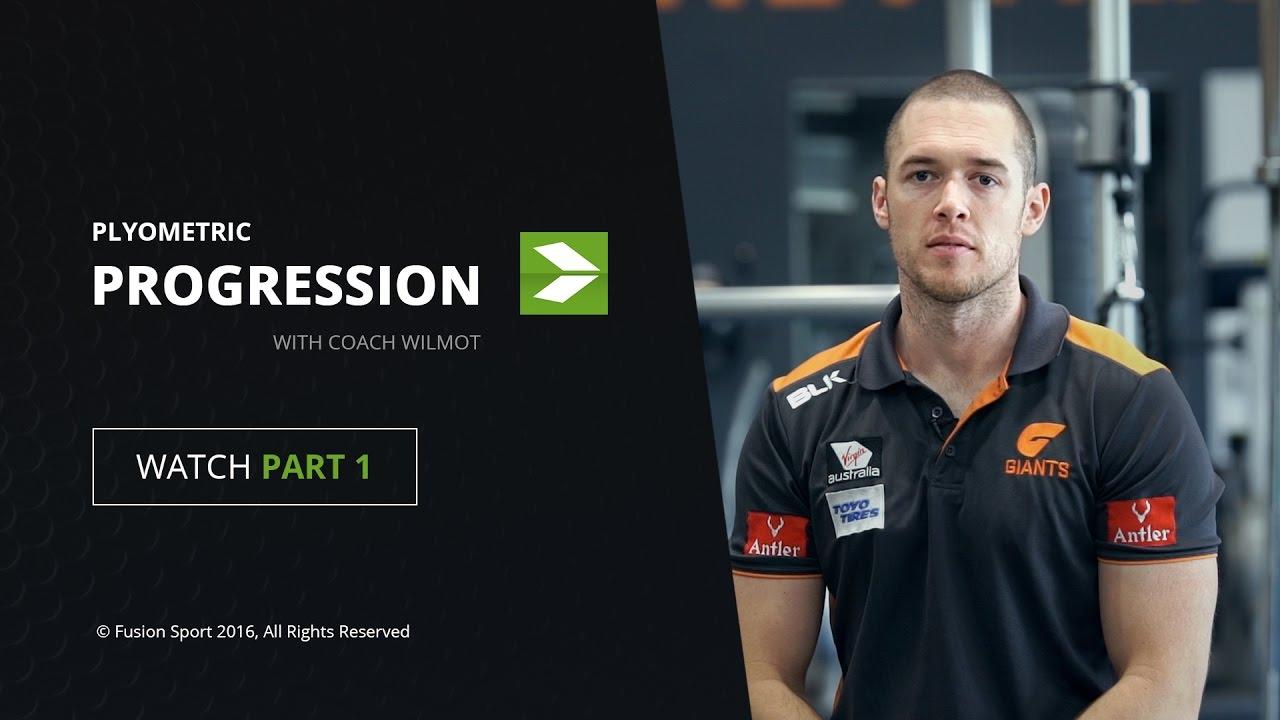 PART 1 | Plyometric Progression with Coach Wilmot – Fusion Sport