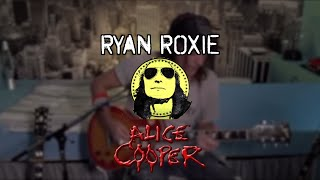 POISON w/RYAN ROXIE | ALICE COOPER | Chris Allan Drums playthrough
