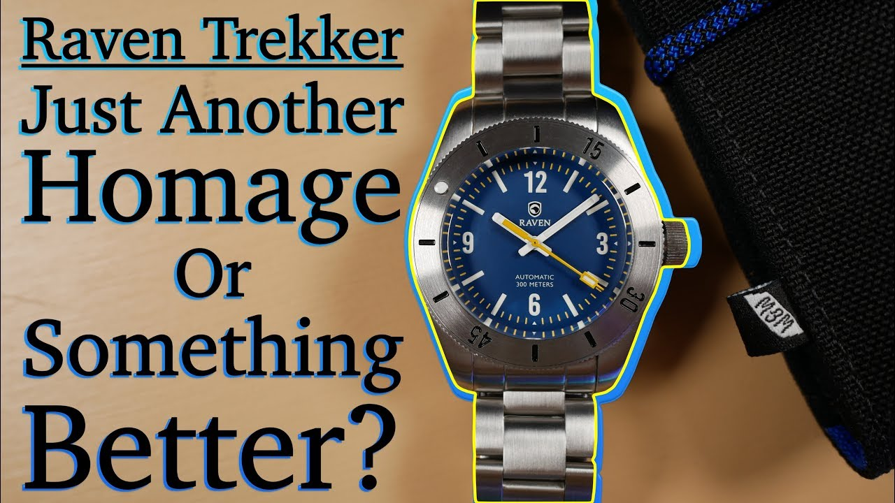 Raven Trekker Review Is This Homage Worth Your Time Not Another Rolex Submariner Clone