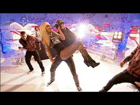 Lady GaGa Poker Face Live @ T4 Sunday