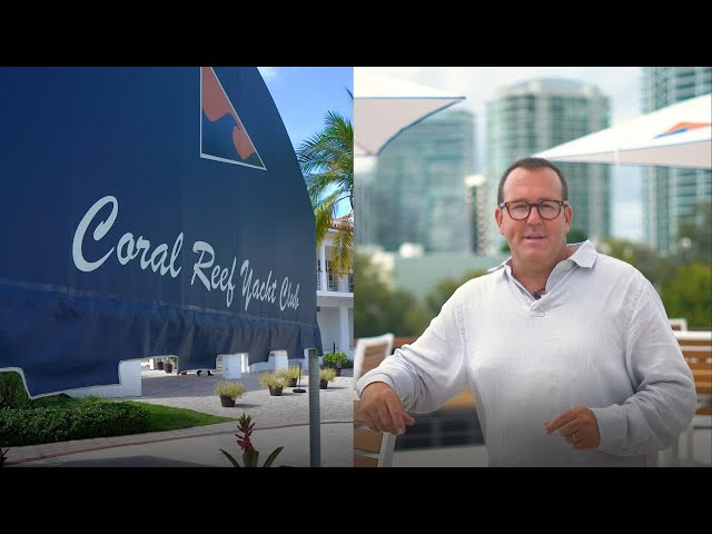 Tour Of Coral Reef Yacht Club