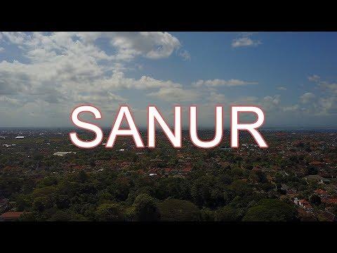 [Bali] Sanur, Jl.Danau Tamblingan, main street, beach promenade /2017 走在巴厘岛サヌール [4K]