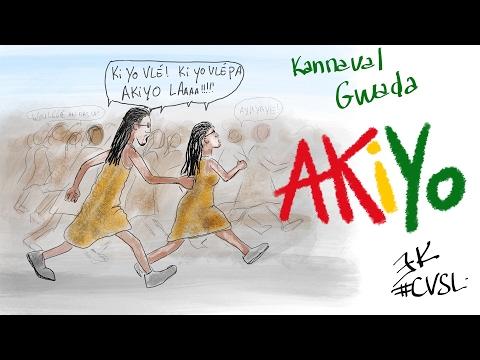#CVSL - Découverte du Carnaval de Guadeloupe avec Akiyo et Hélium