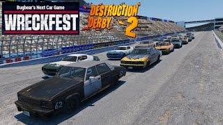 Wreckfest MODS - Destruction Derby 2 Returns!!