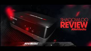 AVerMedia Game Capture HD unboxing and preview by Shadowloo