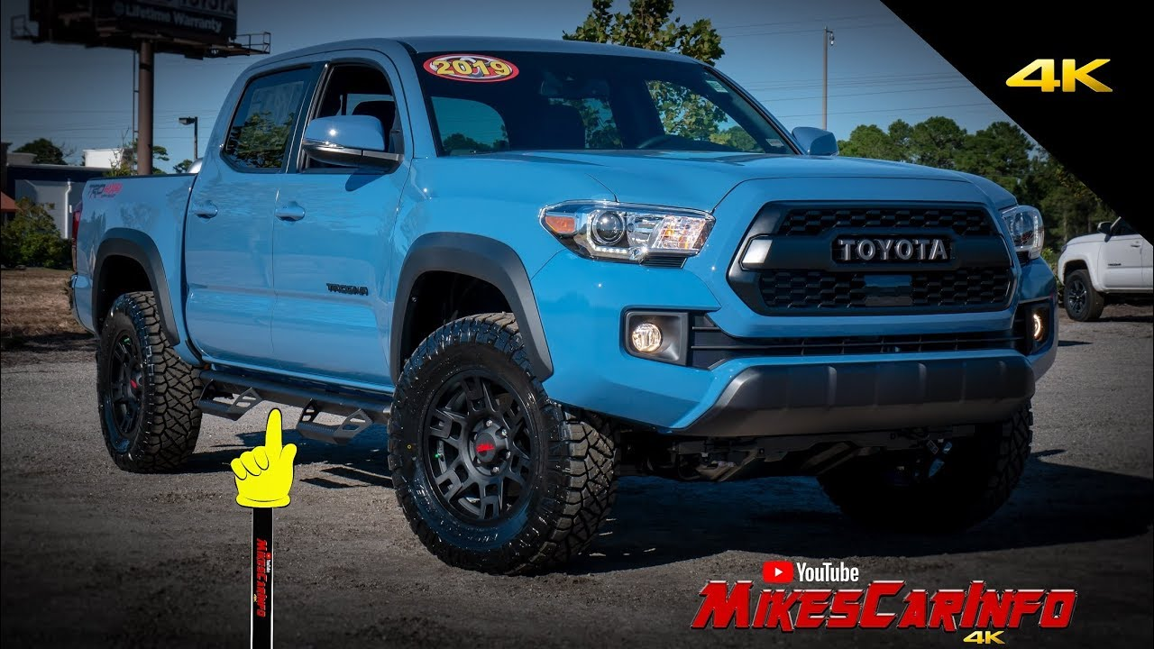 2019 Toyota Tacoma Custom Trd Pro Off Road Detailed Look In 4k