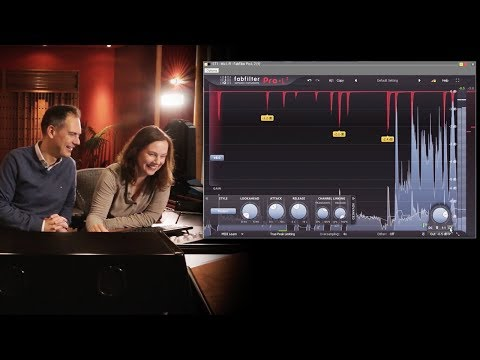 First impression of FabFilter Pro-L 2 at Wisseloord Studios