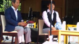 2013.08.17 大山阿夫利神社社務局 能楽殿で行われた、「大山サマージャ...