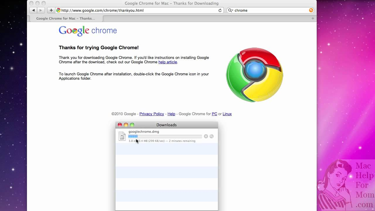 google chrome mac download dmg