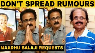 Crazy Mohan's Brother Emotional Video | Maadhu Balaji
