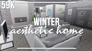 ROBLOX | Welcome to Bloxburg: Winter Aesthetic Home 59k
