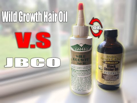 wild growth hair oil . jamaican