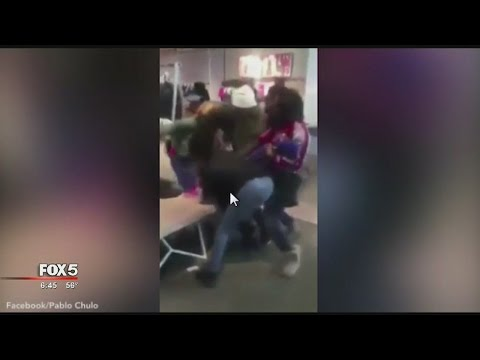 WATCH: Huge fight breaks out at Lenox Square Mall