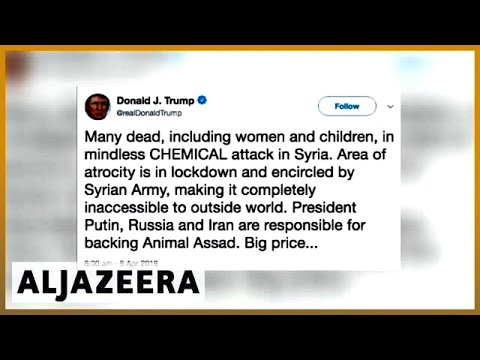 🇸🇾 Syria war: Douma chemical attack draws international outrage | Al Jazeera English