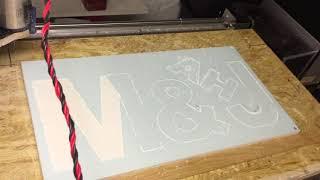 DIY CNC -  Découpe forex
