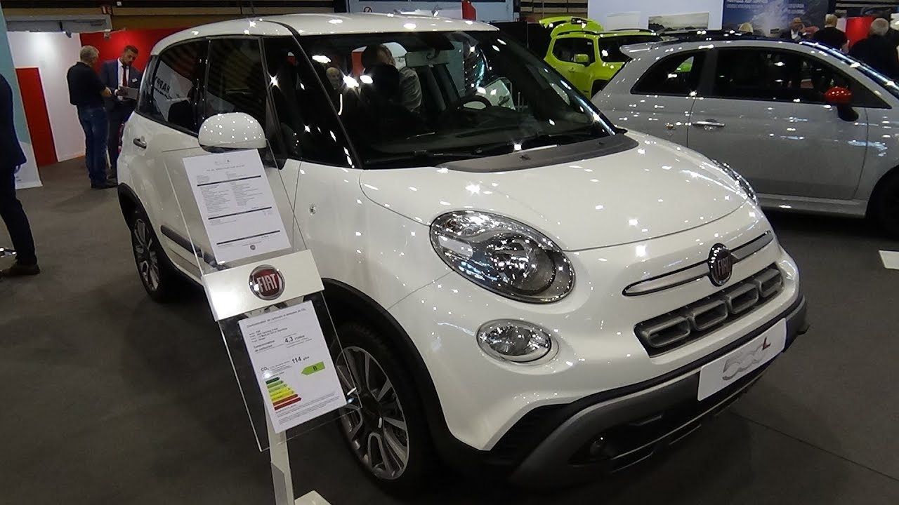 2018 Fiat 500l Opening Cross 1 6 Mjt 120 Exterior And Interior Salon Automobile Lyon 2017