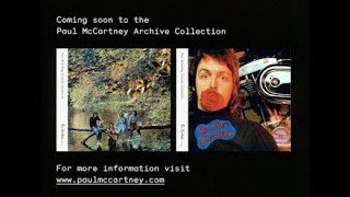 Paul McCartney Archive Releases...Coming Soon?