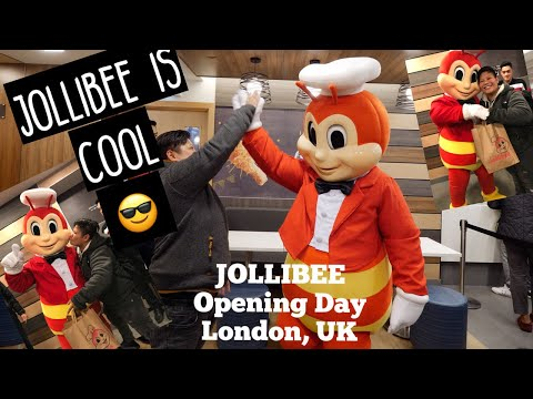 Jollibee In London Opening Day! (With View Of The Restaurant, Never Seen Before)