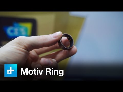 The Motiv Ring brings fitness tracking to your finger