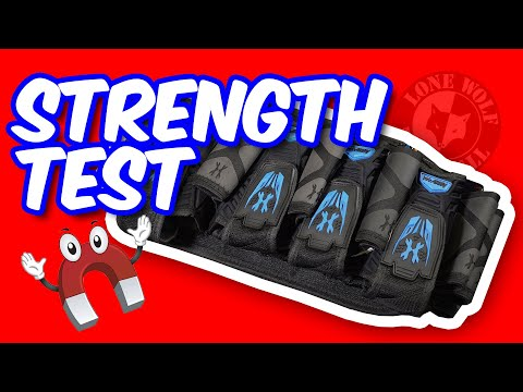 How Strong are the Magnets on the HK Army Magtek Harness? | Lone Wolf Paintball Michigan