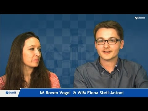 Geschwätzblitz mit IM Roven Vogel und WIM Fiona Steil-Antoni