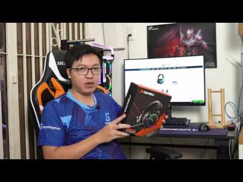 [GEARSHOP.VN] Đập hộp và Review tai nghe DareU EH925 RGB