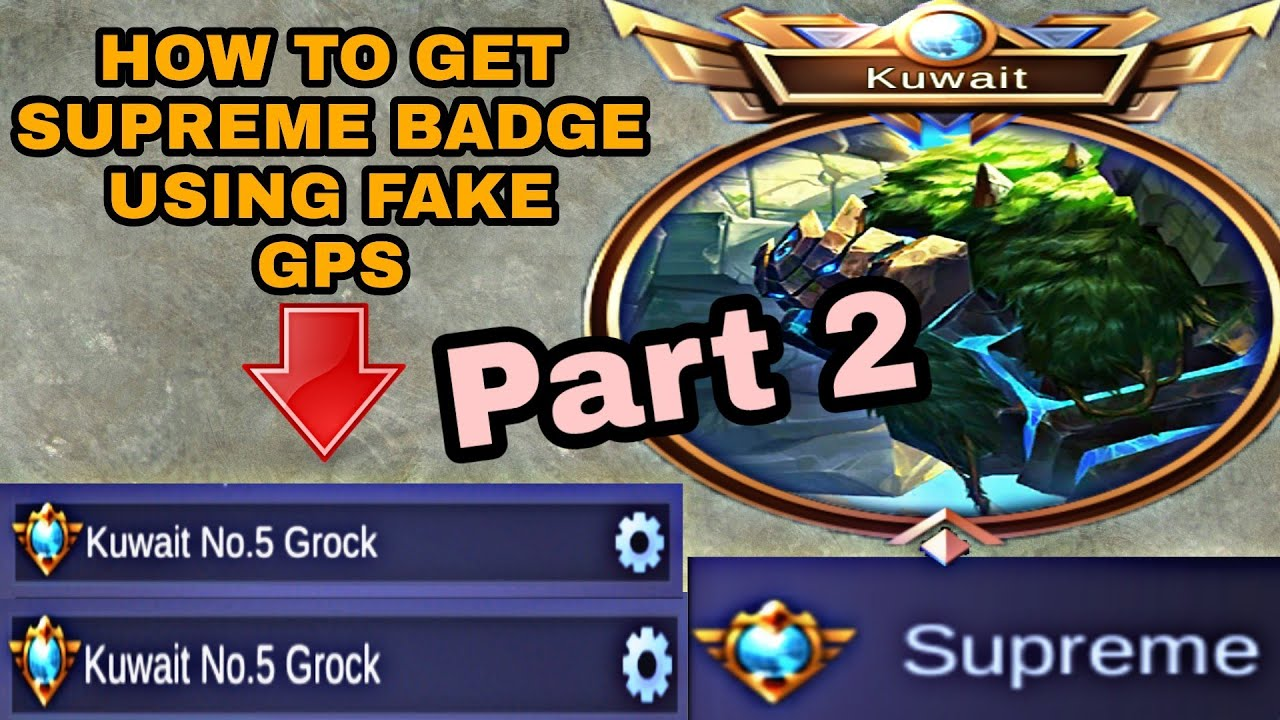 how to get supreme badge title easiest way in mobile