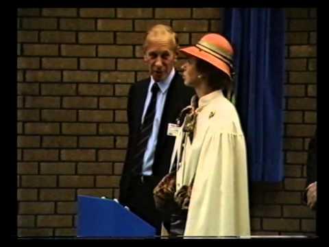 Princess Royal at Ely Mill 1986