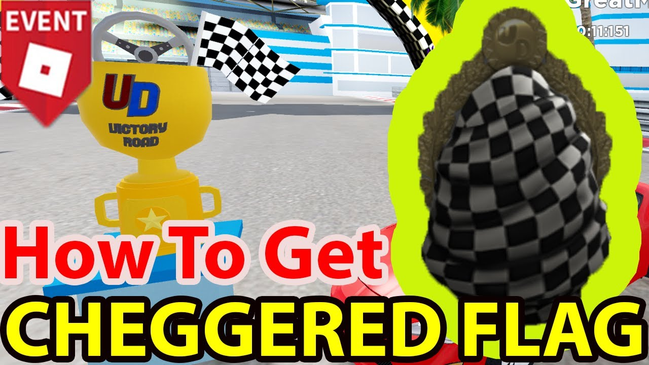 Roblox How To Get All Cheggered Flag Egg In Ultimate Driving