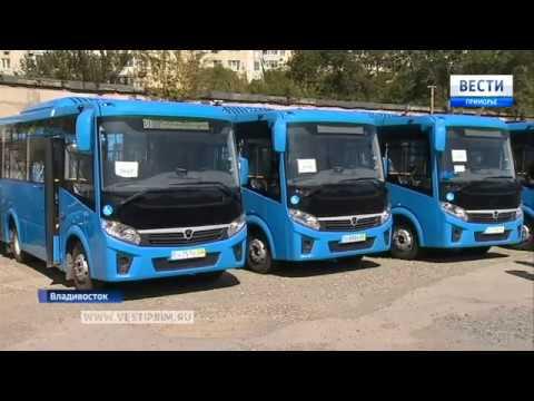 100 новых пассажирских автобусов и 2 электобаса выйдут на городские маршруты Владивостока