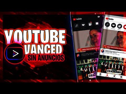 Descargar YouTube Vanced Para Android  [Última Versión Actualizada]
