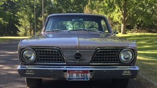 1966 Plymouth Barracuda Virtual Test Drive.  For Sale.