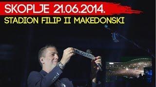 ŽELJKO JOKSIMOVIĆ - LJUBAVI (LIVE) - SKOPLJE 21.06.2014. - STADION FILP VTORI MAKEDONSKI