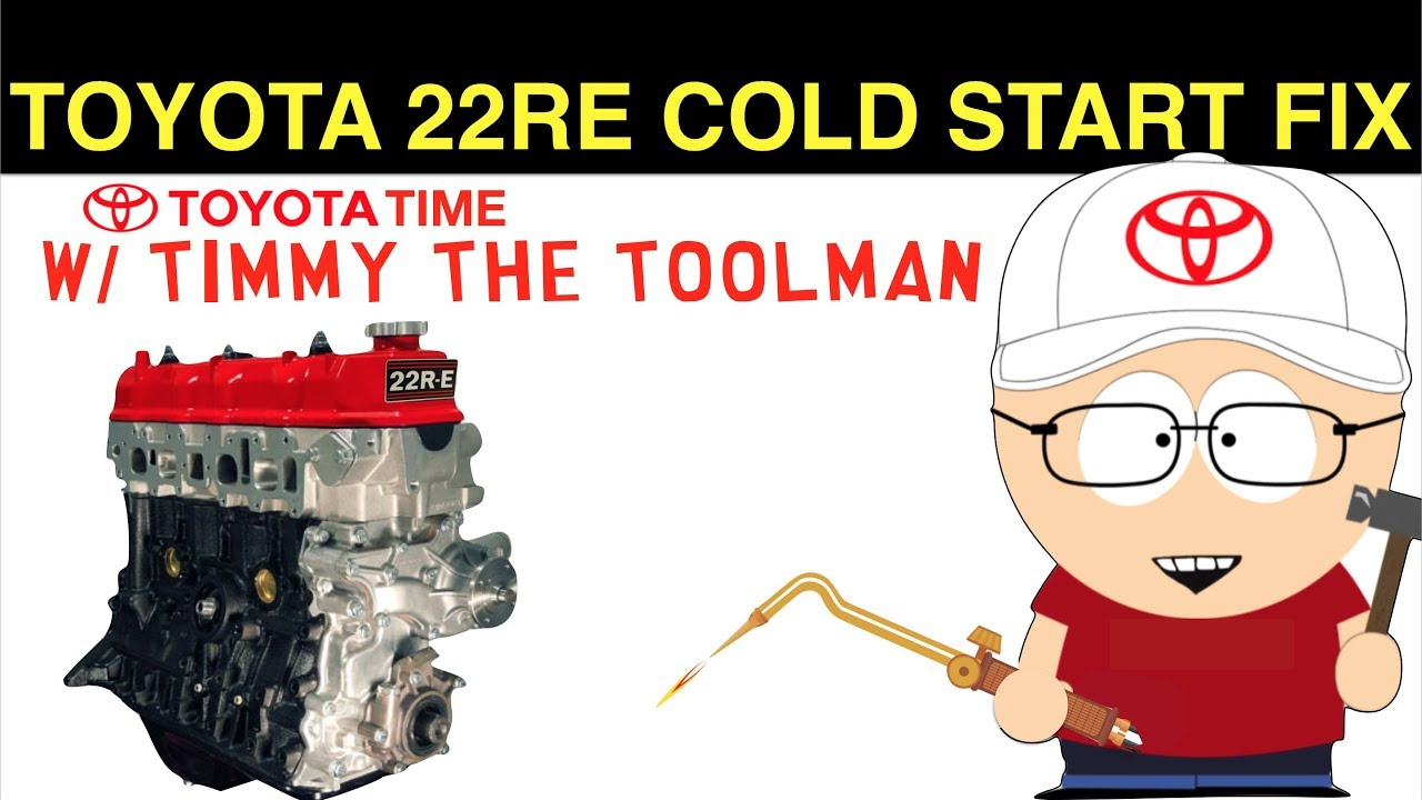 22re cold start wiring diagram toyota 22re cold start diagnosis and fix youtube  toyota 22re cold start diagnosis and
