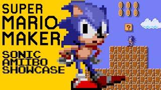 Super Mario Maker [Nintendo Wii U] - Sonic Amiibo Showcase