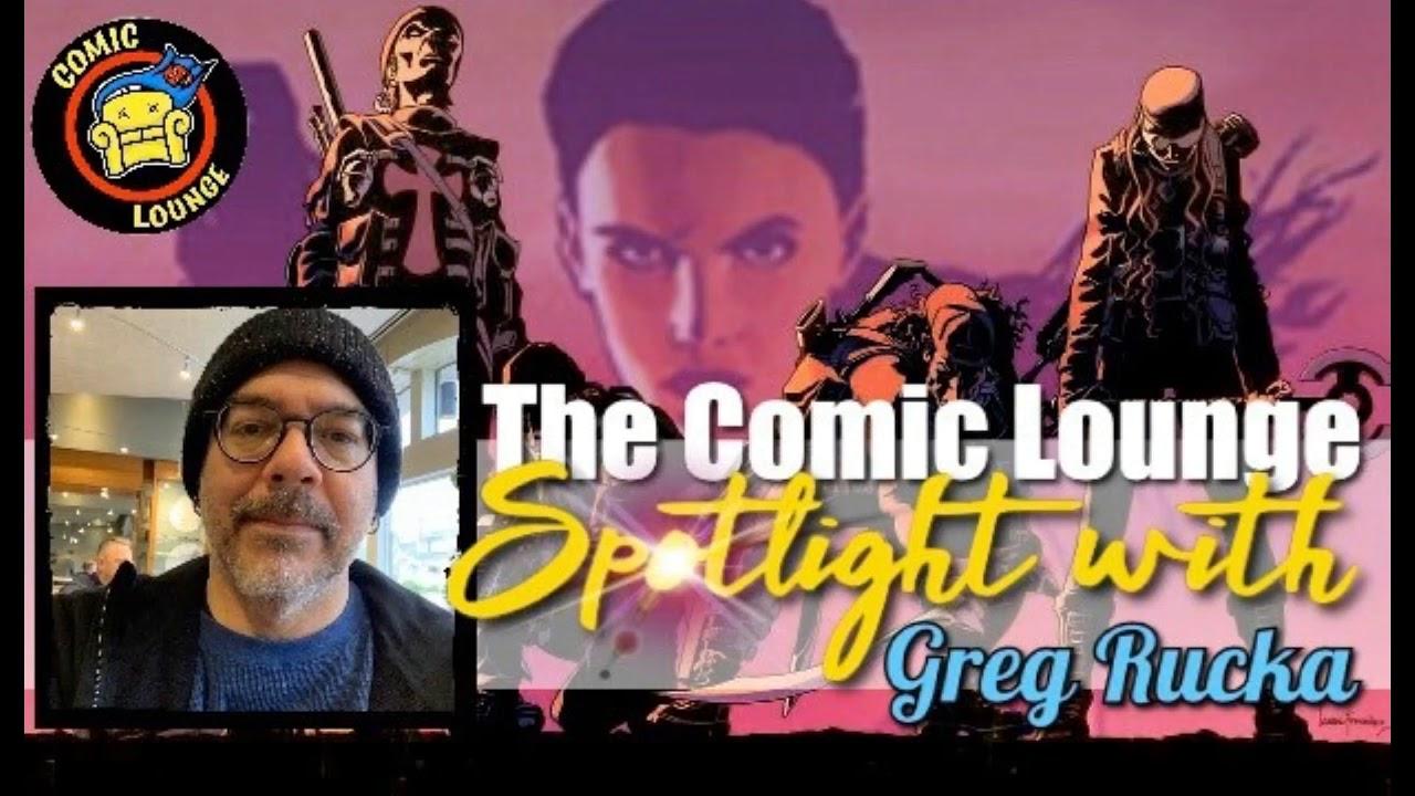 Spotlight Interview with Greg Rucka (Audio)