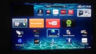 Samsung Smart TV Uygulama Yükleme
