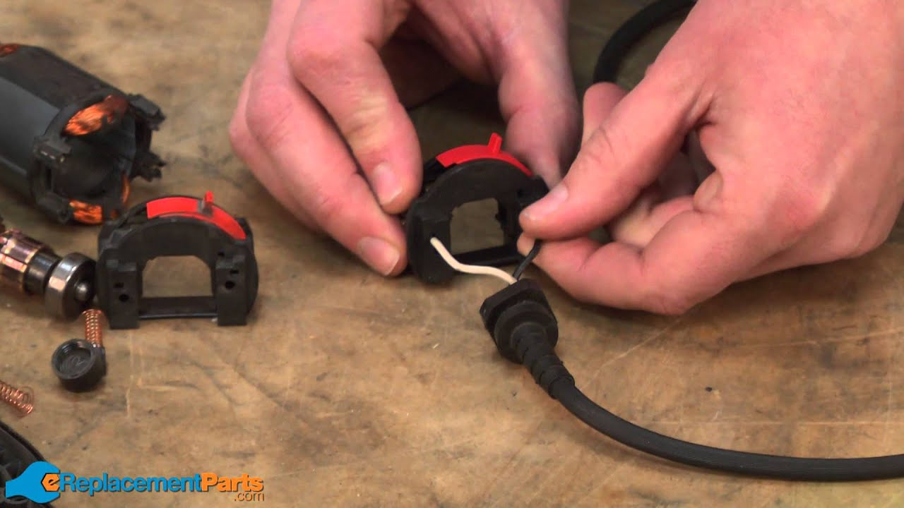 how to replace the switch on a dremel 395 moto tool youtube dremel wiring diagram  [ 1280 x 720 Pixel ]