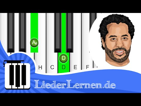 Adel Tawil - Lieder - Klavier lernen - Musiknoten - Akkorde