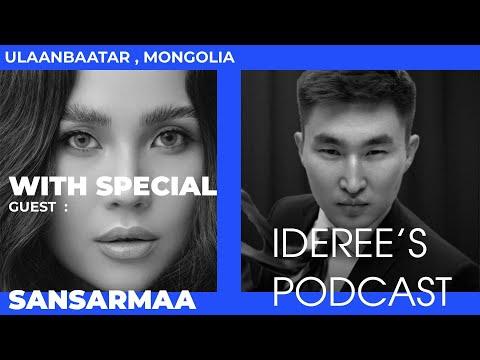 """""""Ideree's podcast"""" 1: Sansarmaa, actress"""