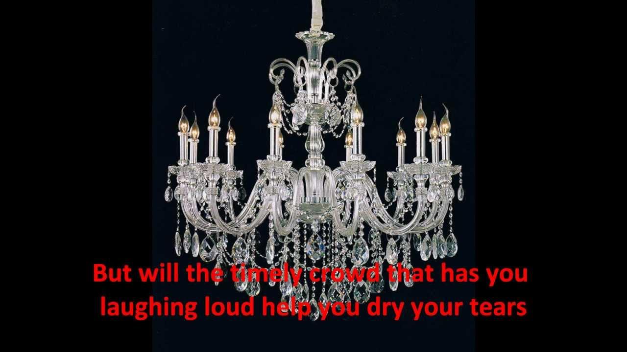 crystal chandeliers by charley pride # 9