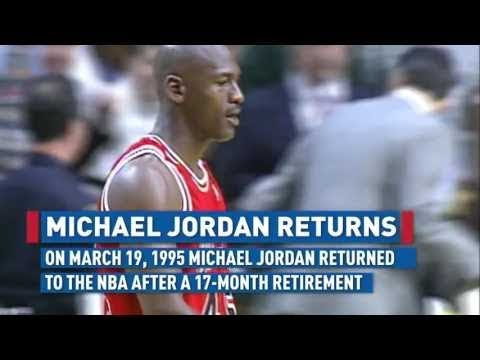 RARE: Michael Jordan (Age 32) Returns To The NBA For The First Time (Full Episode) (March 18, 1995)