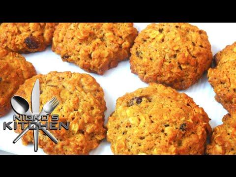 Carrot Cake Cookies - Video Recipe