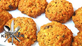 Carrot Cake Cookies - Video Recipe