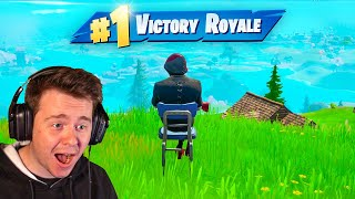 Epic broke Fortnite again... (unlimited wins)