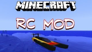 Repeat youtube video SPEED BOAT MOD! | Minecraft 1.7.2 Mods (Mod Showcase & Download)