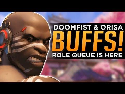 Overwatch: BIG Doomfist & Orisa BUFFS! - Role Queue is HERE! thumbnail
